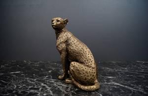 Bilde av Leopard Gull H 18cm